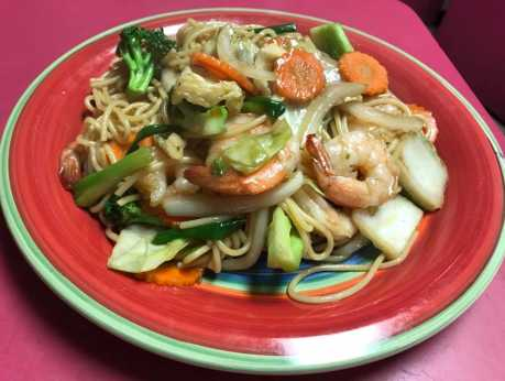 Thai Spice - Yakisoba Shrimp