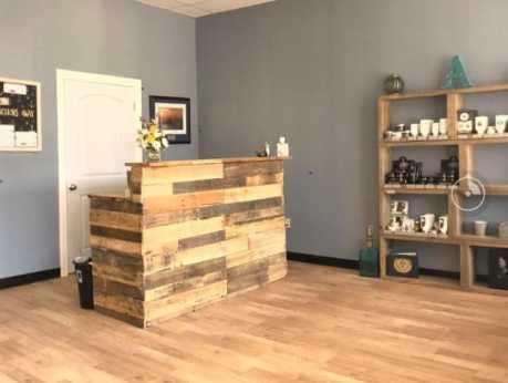 Anchorage Barbershop Interior