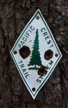 Pacific Crest Trail Sign by Julia Frantz