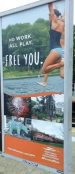 2016 Spring/Summer Co/Op - Platform Posters - NJ Transit - Northern Pocono Mountains