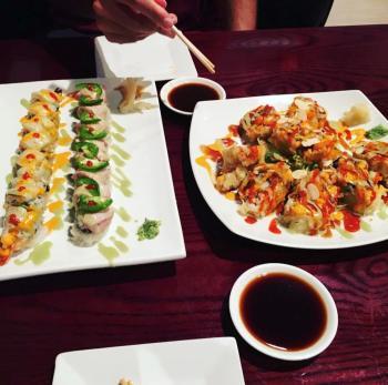 Kabuki Korean Restaurant platter