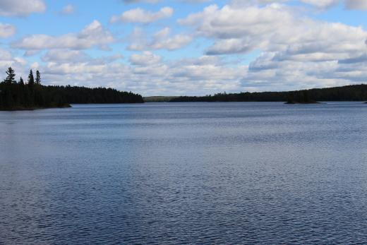 High Lake in Whiteshell Provincial Park