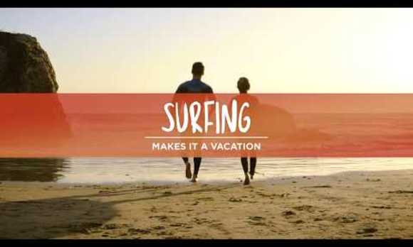 Surfing: Makes It A Vacation