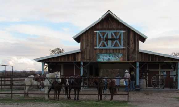 Barn at Horsetail Ranch