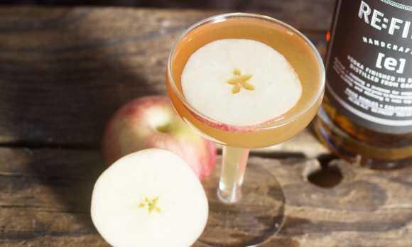 Apple Spic[e] Cocktail