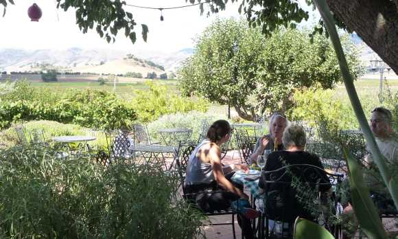 Picnic on our patio with sweeping views of Edna Valley