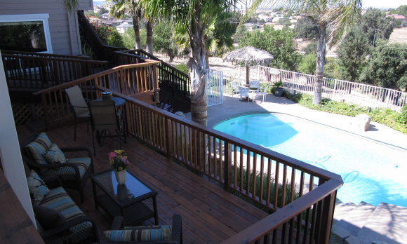 You are welcome to enjoy the private pool.