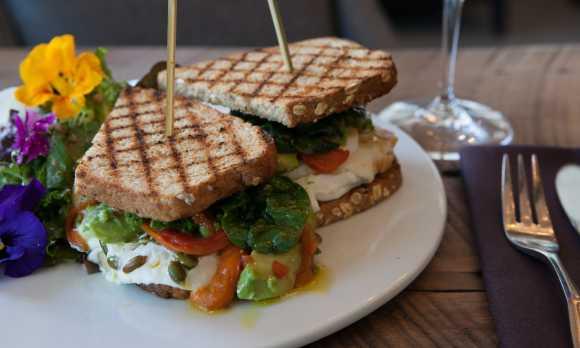 Thomas Hill Organics Goat Cheese Sandwich