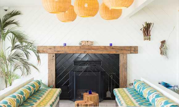 Cambria Beach Lodge Lobby