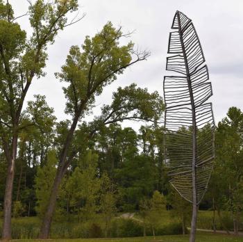 Feather Point Public Art