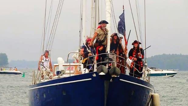 Bill Johnston's Pirate Days