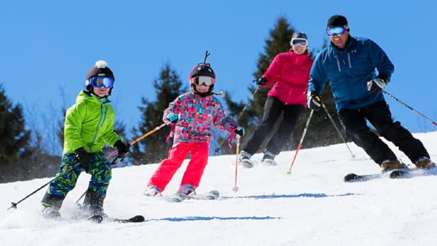 Family Skiing at Greek Peak Mountain Resort