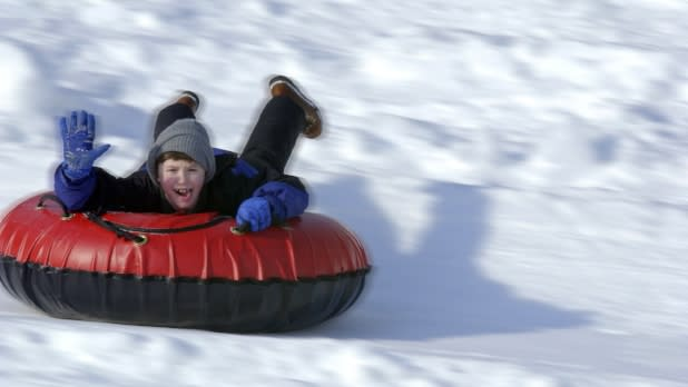 Snow Tubing-Hunter Mountain 57
