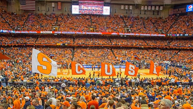 Syracuse Dome Crowd