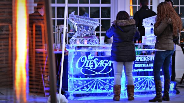Ice Bar Otesaga - Cooperstown Winter Carnival