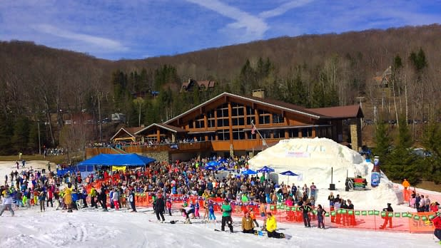 Holiday valley winter carnival snowbar