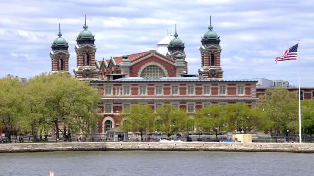 Ellis Island - Photo by Marley White