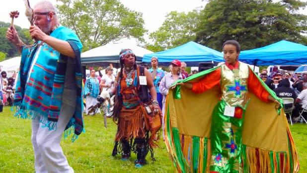Drums Along The Hudson- Pow Wow Dancers