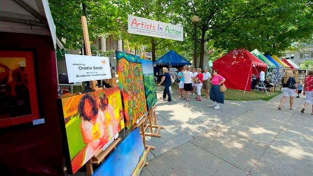 July Fest and Binghamton Jazz Festival