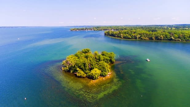 Frontenac Island