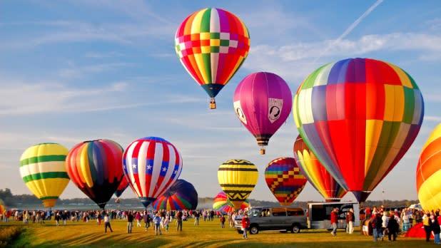 Adirondack Balloon Festival - Will Cook