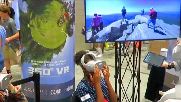 ILNY experience VR