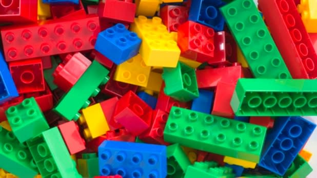 Pile of Legos at the Lego Car Show