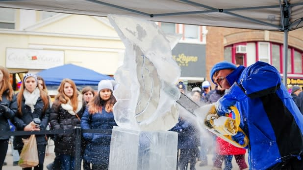 Downtown Ithaca Ice Festival