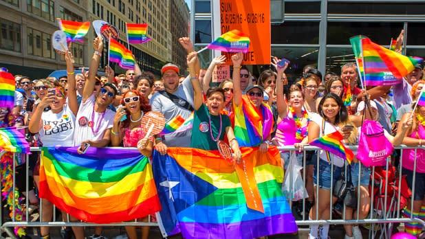 New York City Pride March; Photograph: Chris Gagliardi