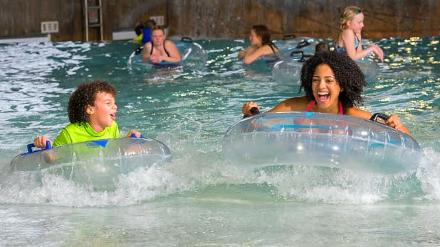 Hope Lake Lodge Waterpark at Greek Peak Mountain Resort