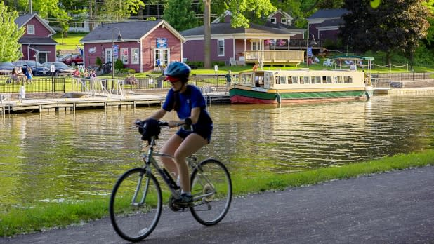 Erie Canal biking