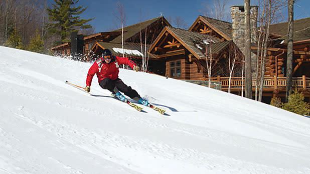 Skier at Windham Mountain