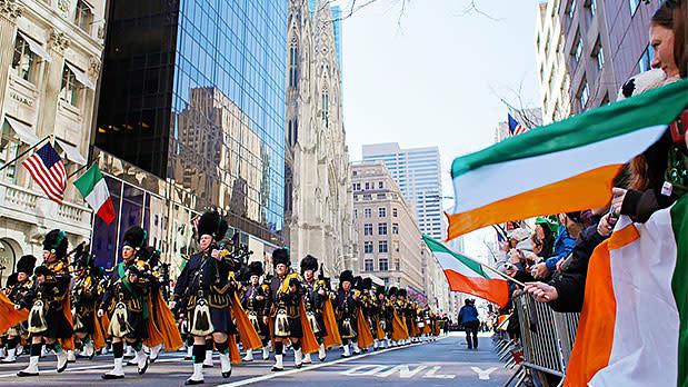 St Patricks Day Parade Buffalo - Photo by Joe Buglewicz