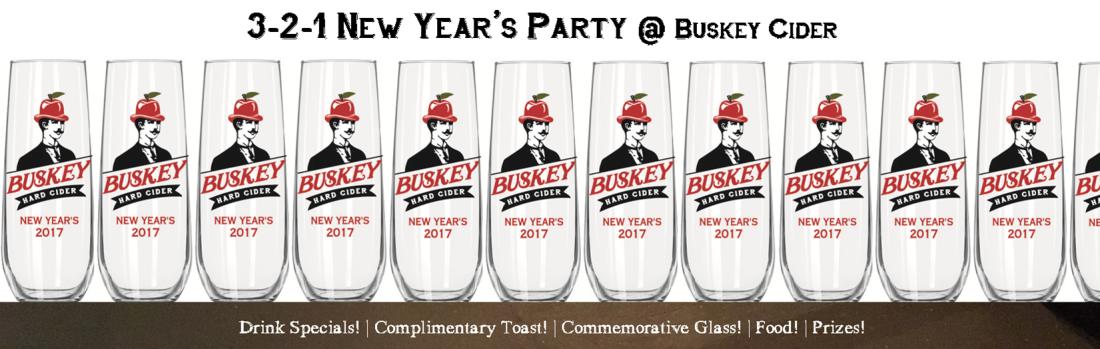 Buskey Cider NYE