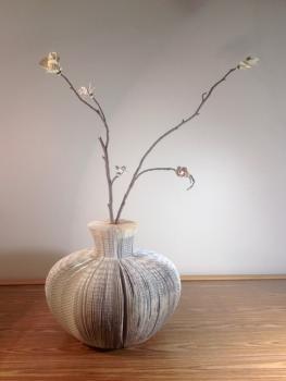 Book Vase by Megan Ingalls Stasi,