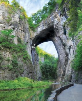 Natural Bridge in Virginia's Blue Ridge
