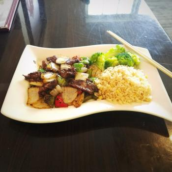 Wok Star Black Pepper Steak