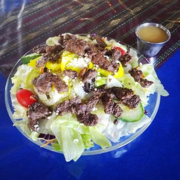 The Sultan Lamb Salad - Athens, Georgia