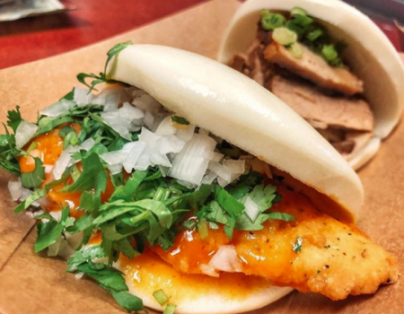 Fat Bao │ Mango Habanero Chicken Bao