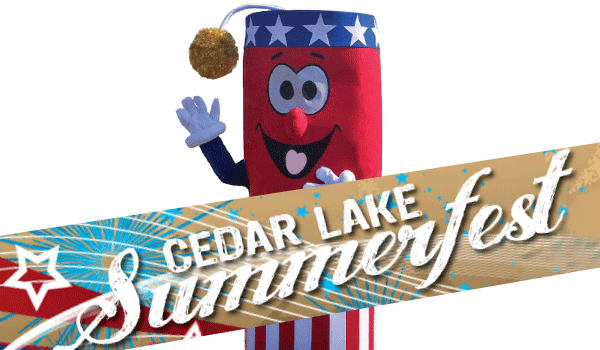 Cedar Lake Summerfest logo