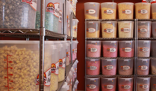 ChicagoLand Popcorn buckets and flavors