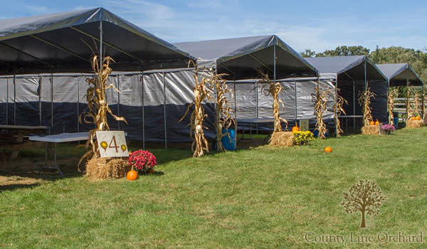Party Village at County Line Orchard