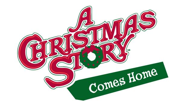 A Christmas Story Comes Home logo