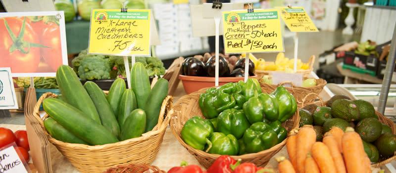 Winter Farmers Market Produce