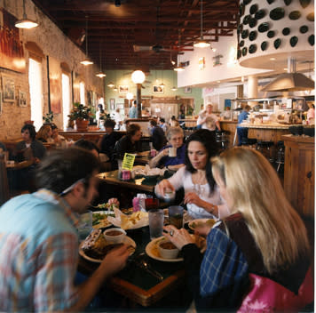 Eat all of the tacos! Diners chowing down at Gueros Taco Bar on South Congress. Photo  provided by Gueros Taco Bar.