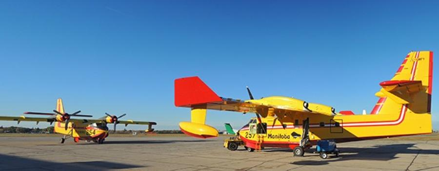 Royal Aviation Museum Canadair CL-215-Water Bomber or Super Scooper-Water Bomber or Super Scooper