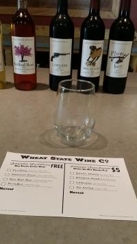 Wine Tasting Wheat State Wine Co - Winfield