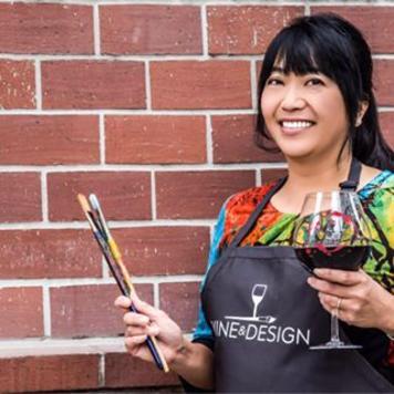 Tina Farman owner of Wine & Design in Oakland