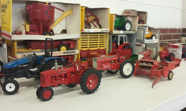 Toy Tractors at the Morgan County Antique Machinery Show