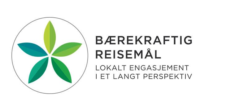 Bærekraftig reisemål logo liten